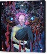 Dmt - The Spirit Molecule Acrylic Print by Steve Griffith