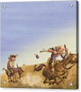 Don Quixote Acrylic Print by Andy Catling