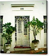 Door 59 Acrylic Print by Perry Webster