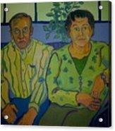 Dottie And Jerry Acrylic Print by Debra Robinson