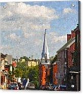 Downtown Lexington 3 Acrylic Print by Kathy Jennings