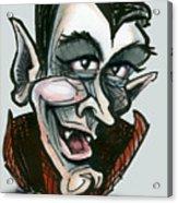 Dracula Acrylic Print by Kevin Middleton