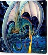 Dragon Causeway Acrylic Print by The Dragon Chronicles - Robin Ko