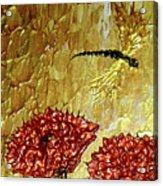 Dragonfly At Dawn Acrylic Print by Daniel Lafferty
