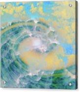 Dream Wave Acrylic Print by Linda Sannuti