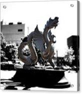Drexel Dragon Acrylic Print by Bill Cannon