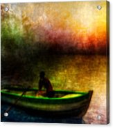 Drifting Into The Light Acrylic Print by Bob Orsillo