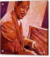 Duke Ellington Acrylic Print by David Lloyd Glover