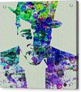Duke Ellington Acrylic Print by Naxart Studio