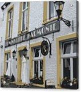 Dutch Cafe - Digital Acrylic Print by Carol Groenen