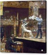 Eakins: Between Rounds Acrylic Print by Granger
