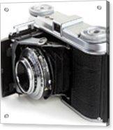 Early 35mm Film Camera Acrylic Print by Paul Cowan