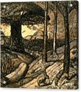 Early Morning Acrylic Print by Samuel Palmer