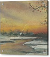 Early Winter Acrylic Print by Shelby Kube