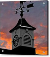 East By South Acrylic Print by Brian Roscorla