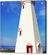 East Point Lightstation Pei Acrylic Print by Thomas R Fletcher
