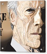 Eastwood Acrylic Print by Mike  Haslam