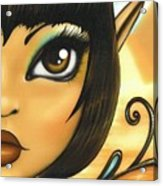 Egyptian Fairy Acrylic Print by Elaina  Wagner