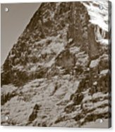 Eiger North Face Acrylic Print by Frank Tschakert