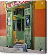 El Hecho Pub Acrylic Print by Tomas Castano