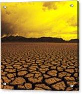 El Mirage Desert Acrylic Print by Larry Dale Gordon - Printscapes