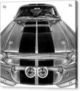 Eleanor Ford Mustang Acrylic Print by Peter Piatt