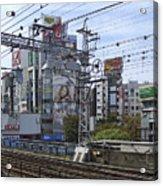 Electric Train Society -- Kansai Region Japan Acrylic Print by Daniel Hagerman