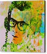 Elvis Costello Acrylic Print by Naxart Studio