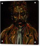 Emiliano Zapata Acrylic Print by Americo Salazar