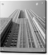 Empire State Building Acrylic Print by Mike McGlothlen