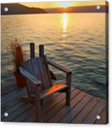 End Of Summer II Acrylic Print by Steven Ainsworth