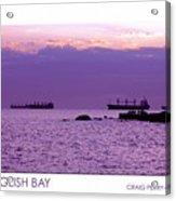 English Bay Acrylic Print by Craig Perry-Ollila