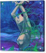Entangled In Your Love... Acrylic Print by Dorina  Costras