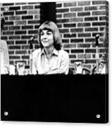 Era Debate, 1978 Acrylic Print by Granger