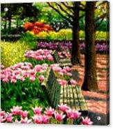 Eternal Spring Acrylic Print by John Lautermilch