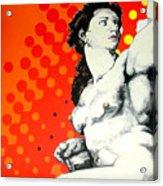 Eva Acrylic Print by Jean Pierre Rousselet