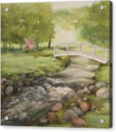 Evelyn's Creek Acrylic Print by Becky West