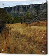 Ewing-snell Ranch 2 Acrylic Print by Larry Ricker