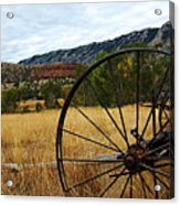 Ewing-snell Ranch 3 Acrylic Print by Larry Ricker
