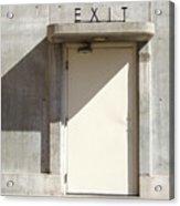 Exit Acrylic Print by Mike McGlothlen