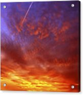 Exploded Sky Acrylic Print by Michal Boubin