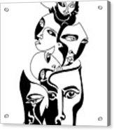 Exposure Acrylic Print by Roy Guzman