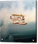Eyes Of The Fleet Acrylic Print by Marc Stewart