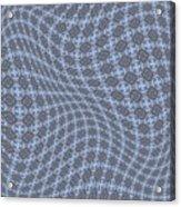Fabric Design 13 Acrylic Print by Karen Musick