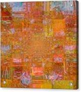 Fabric Two Acrylic Print by Fania Simon