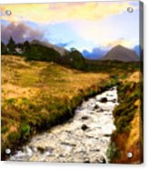 Faerie Lands - Beautiful Morning On The Isle Of Skye Acrylic Print by Mark E Tisdale