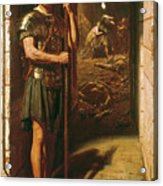 Faithful Unto Death Acrylic Print by Sir Edward John Poynter