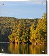 Fall Reflection Acrylic Print by Michael Mooney
