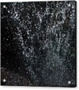 Falling Cavern Cascade Watkins Glen Acrylic Print by InTheSane DotCom