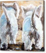 Farewell Acrylic Print by Mary Sparrow